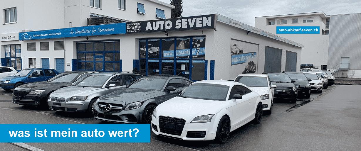 Wie viel ist mein Auto Wert - Autowertrechner Online Schweiz