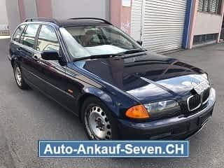 BMW 330d Touring Kombi Blau Met