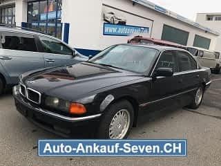 BMW 530i 1995 Limousine Schwarz