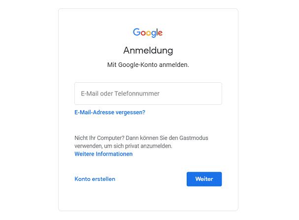 Anmeldung Google Bewertungen Auto Ankauf Seven - die Abbildung