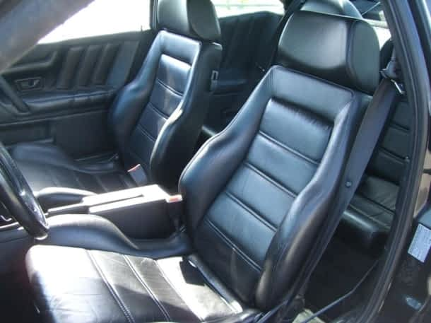 Recaro Interior im Corrado VR6 ab Werk