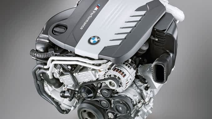 BMW plant Sechszylinder Diesel mit vier Turboladern