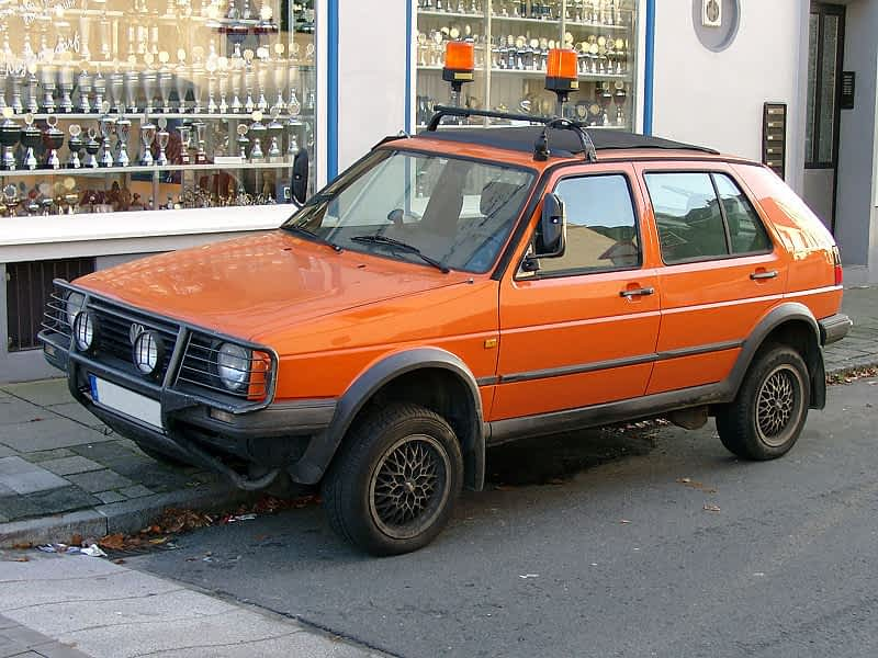 Volkswagen Golf incl. syncro und Country